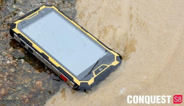 Jual Original Conquest S8 Ip68 4g Lte Waterproof Phone 6000mah Battery Gps  - Kota Batam - Adventure-no1 | Tokopedia