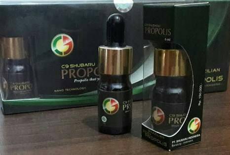 Propolis Nano Brazilian Shubaru C9 New Pack Isi 7 Botol (ASLI)