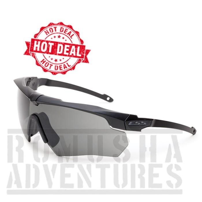harga Ess Black Crossbow Kacamata 3 Lensa Tokopedia.com