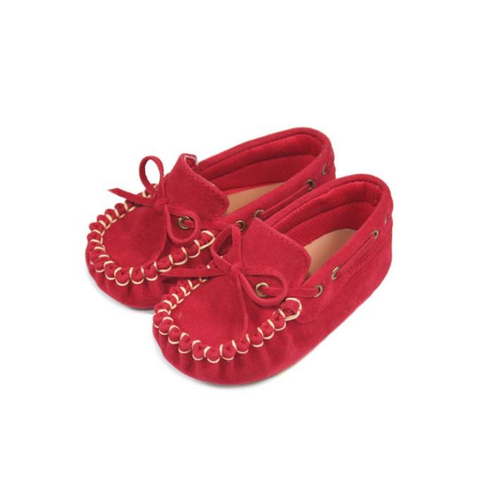 Sepatu Bayi Laki-laki Tamagoo-Marc Red Shoes Prewalker Murah - 0-3 Bulan 815892d645