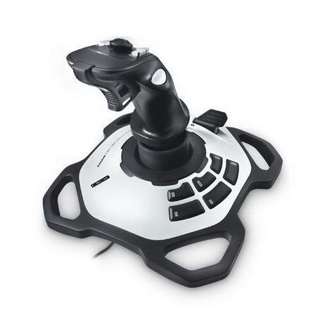 harga Logitech Extreme 3d Pro Joystick Flight Simulator For Pc - Controller Tokopedia.com