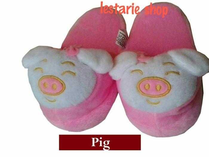 harga Sandal boneka m pig/sandal anak/sandal rumah/sandal lucu Tokopedia.com