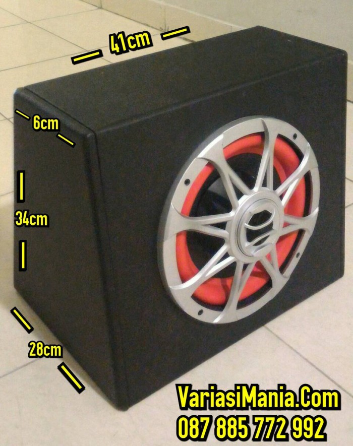 harga Bass tube/basstube subwoofer aktif model kotak 10  inch universal Tokopedia.com