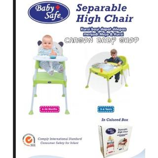 harga Baby safe separable high chair/kursi makan bayi/meja belajar anak Tokopedia.com