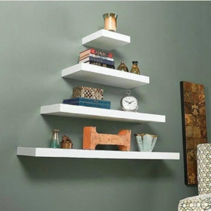 harga Ambalan 1 set isi 4 bracket besi kuat / rak dinding/ganting minimalis Tokopedia.com