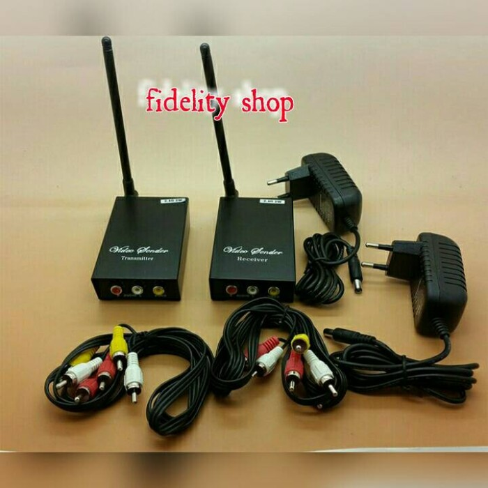harga Audio video sender 2 watt transmitter wireless 2.4ghz Tokopedia.com