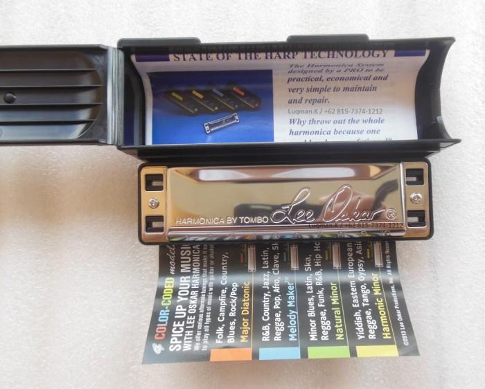Foto Produk Harmonica Diatonic Tombo Lee Oskar Major Diatonic dari Zeb Hobbies Store