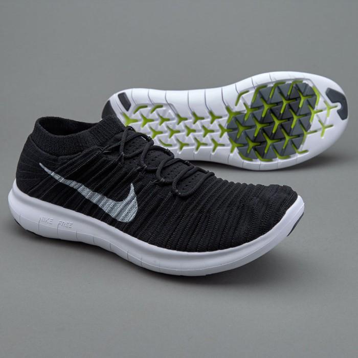 super popular 559fb 3b9d2 ... australia sneakers nike free rn flyknit 5.0 black sepatu running  premium gym efe01 66ac2