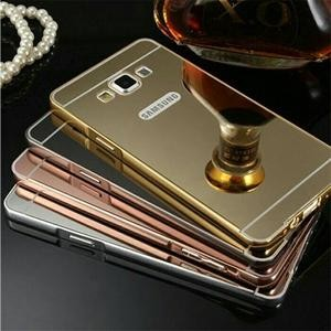 Samsung Galaxy Note 3 Neo N7505 Bumper Mirror Slide Hard Case Casing
