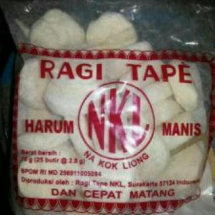 harga Ragi tape nkl 1 pack besar/ 1 bal ( isi 25 bungkus) Tokopedia.com