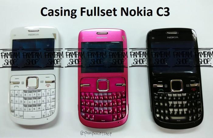 reputable site 4e9ab 03df6 Jual Casing / Case / Kesing Fullset / Full Set Nokia C3 ORI China - DKI  Jakarta - PAMPAM SHOP | Tokopedia