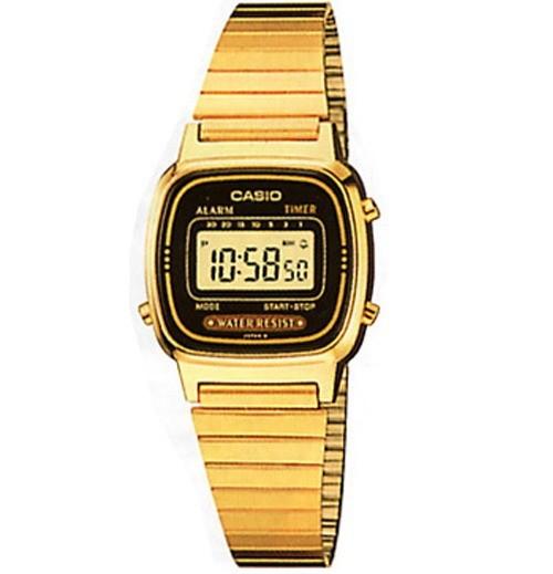 harga Casio la670wga jam tangan wanita warna emas gold ori garansi 1tahun Tokopedia.com