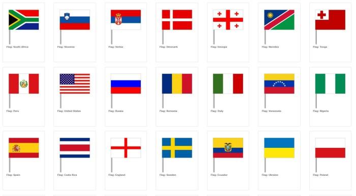 Bendera Dunia