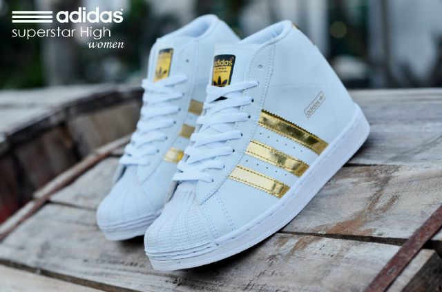 ... harga Sepatu adidas superstar women high made in vietnam Tokopedia.com 555358477f