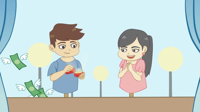 Download 6000  Gambar Animasi Penjual Buah HD Terbaru