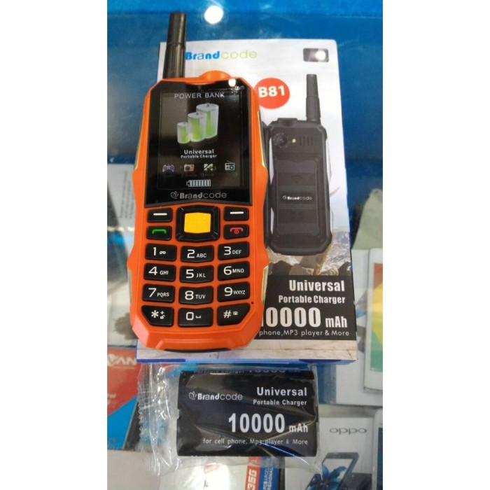 harga Brandcode b81 hp & powerbank - garansi resmi 1 th Tokopedia.com