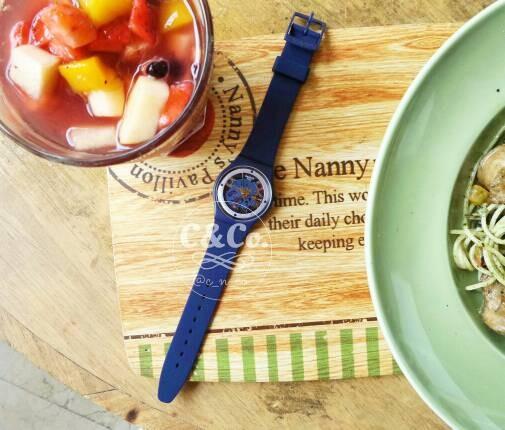 Jual Swatch GN245 Squelette Blue - jam tangan original wanita ... 5027e0bb9b
