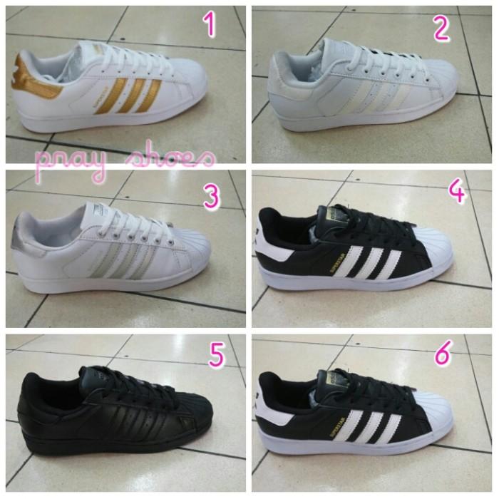 Jual Sale Shoes R1l2 Sepatu Adidas Super Star Women Lokal Import ... 9328d7727d