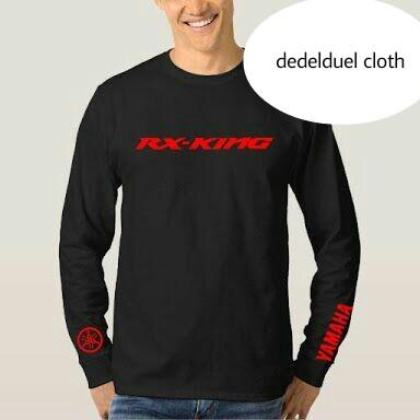 harga Kaos/t shirt/lengan panjang motor rx king Tokopedia.com