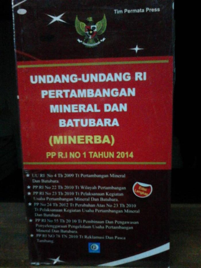harga Undang undang ri pertambangan dan mineral dan batubara Tokopedia.com