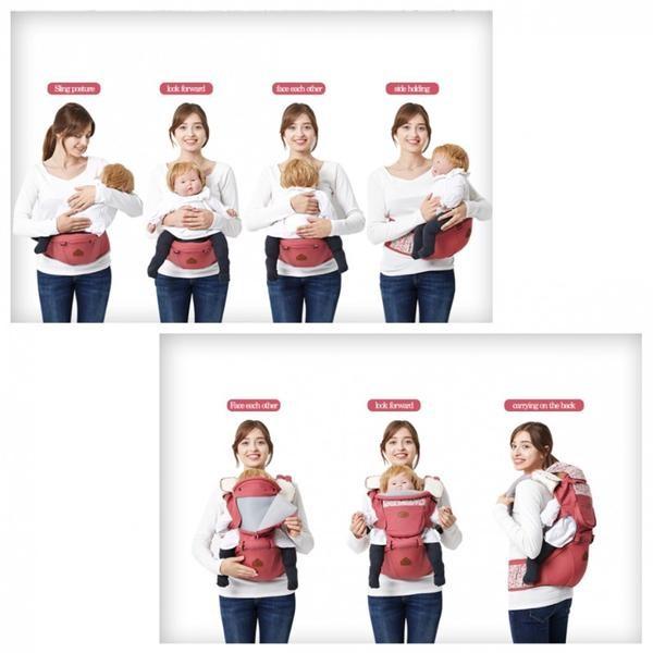 Jual Gendongan Bayi Baby Carrier I Angel Hipseat Fleur Pink Kota Bekasi Aimbebe Tokopedia