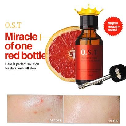 harga Ost original pure vitamin c20 serum 30ml pemutih pencerah wajah alami Tokopedia.com