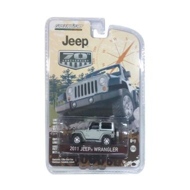 Greenlight Jeep 70th Anniversary 2011 Jeep Wrangler (1:64) Silver