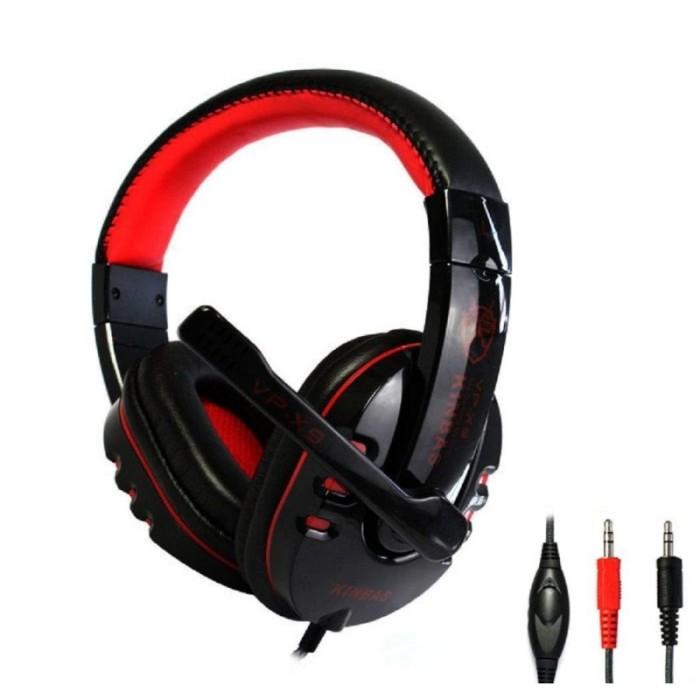 harga Headset microphone / headphone gaming kinbas high quality hifi - vp-x9 Tokopedia.com