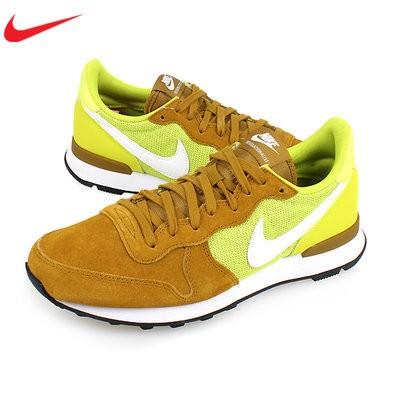 buy online 7f198 480eb Diskon Sepatu Casual Original Nike Internationalist Noir Blanc Yellow