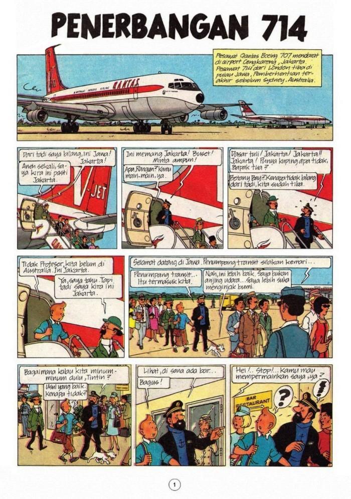 Komik Tintin Bahasa Indonesia Lengkap In English