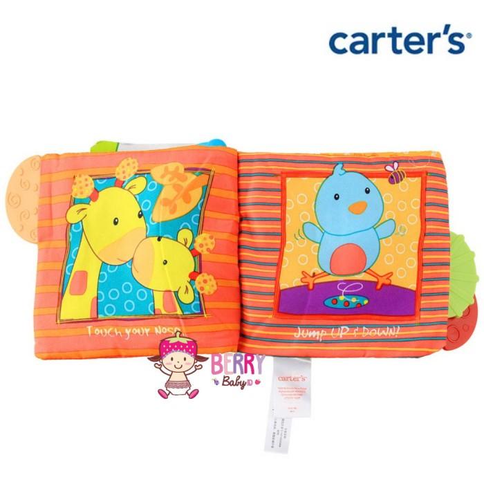 Jual Buku Bayi   Buku Bantal Carter s dengan Teether  Play With Me ... 5c12cd6935
