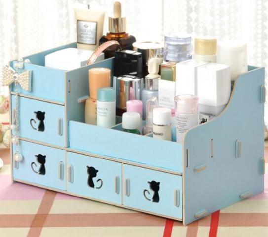 Grosir Kosmetik Lula: Jual Tempat Kosmetik Perhiasan & Aksesoris Desktop Storage