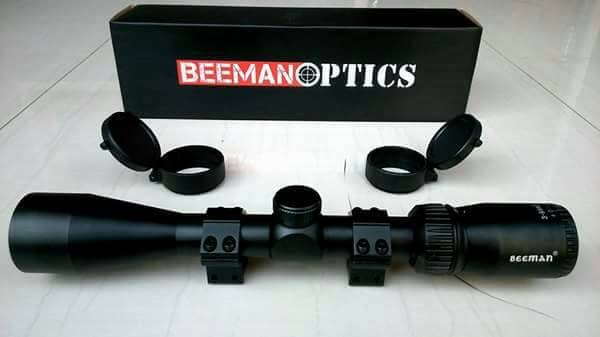 Jual telescope beeman optics tele scope mildot teleskop