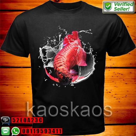 harga Kaos Arwana Super Red White Water Tokopedia.com