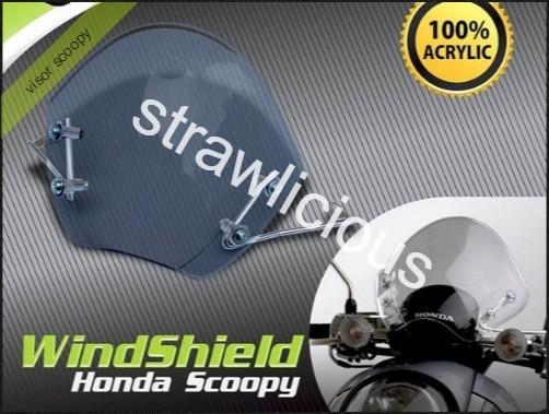 harga Tgp visor scoopy/ aksesoris/variasi motor/wind shield Tokopedia.com