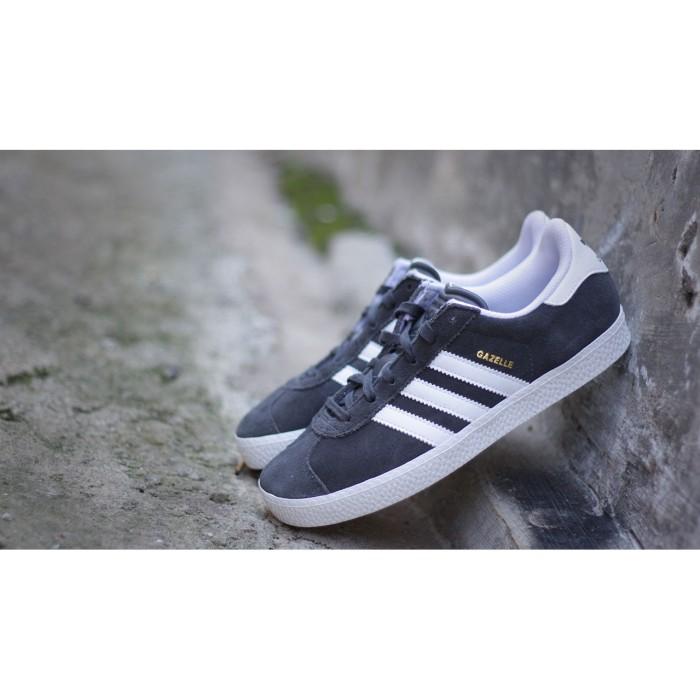 harga Adidas gazelle ii dark grey 100% original Tokopedia.com