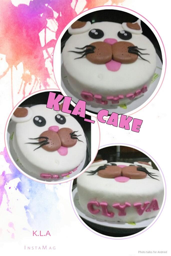 Jual Kue Ulang Tahun Kucing Birthday Cake Jakarta Timur Kampung Heroes Tokopedia