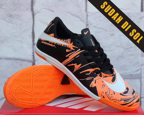 big sale a731a 21770 ... norway sepatu futsal nike hypervenom graffiti hitam orange 31986 e6674