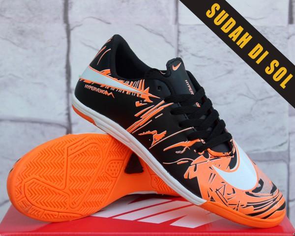 diseño hábil gama completa de artículos descuento mejor valorado Jual Sepatu Futsal Nike Hypervenom Phantom 2 Neymar II Hitam ...