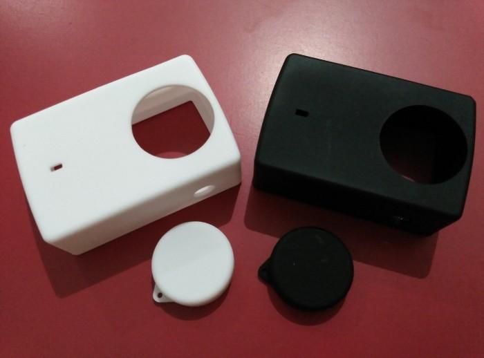 Foto Produk Xiaomi Yi 2 4K Slicone Case + Lens Cap/Tutup Lensa dari LIV's shop