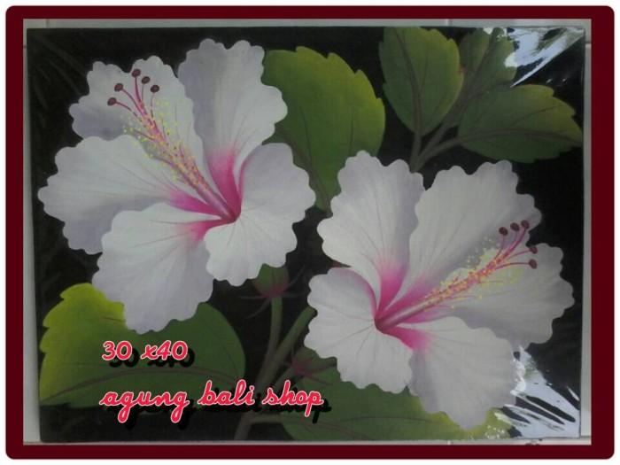 Jual Lukisan Bunga Pucuk Putih Kab Gianyar Agungbalishop Tokopedia
