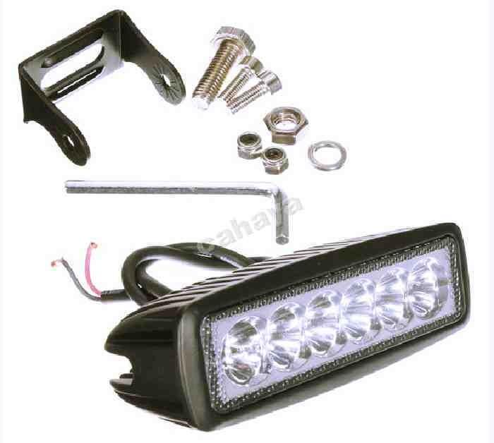 Foto Produk LAMPU KERJA SPOT 18 W (10-60 VDC) dari PATRIA BERKAH