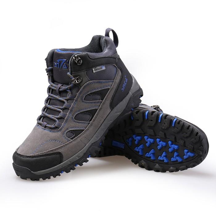 harga Sepatu gunung/trekking/hiking/outdoor snta 473 grey blue Tokopedia.com