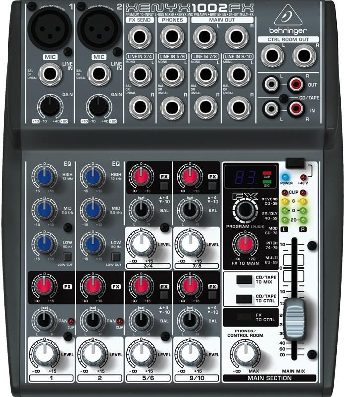 harga Behringer xenyx 1002fx mixer Tokopedia.com