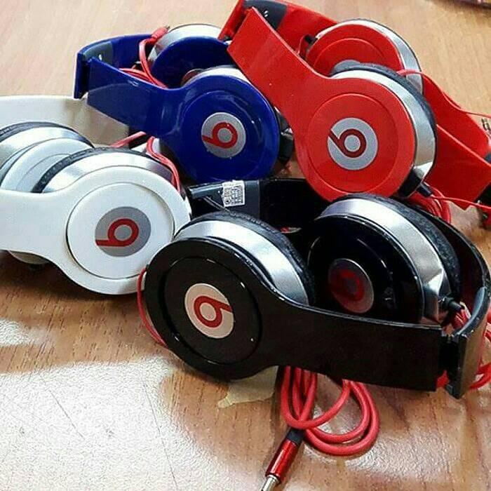 harga Headset/ earphone/ handsfree beats bando solo streo Tokopedia.com