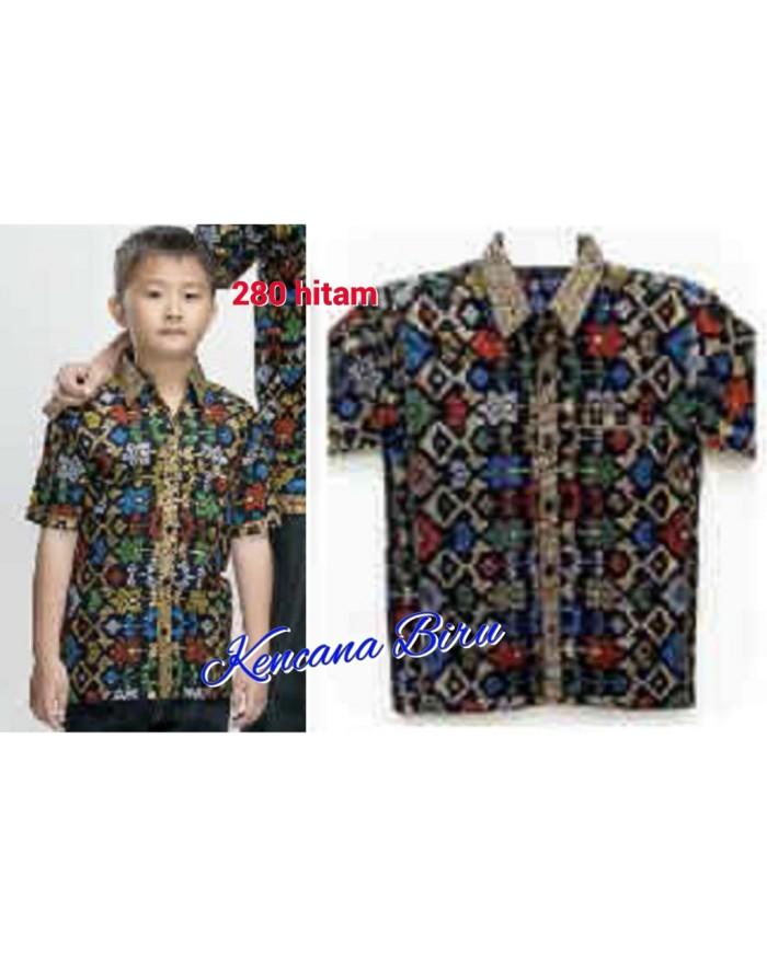 harga 280 kemeja batik anak 5- 11thn/anak laki/hem lengan pendek Tokopedia.com