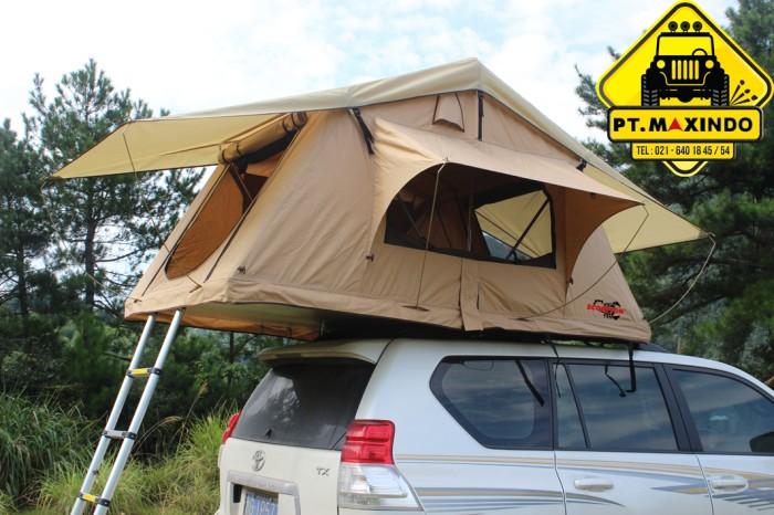 harga Scorpion roof top tent 14 m ( tenda di atas mobil ) warna sand yellow Tokopedia.com