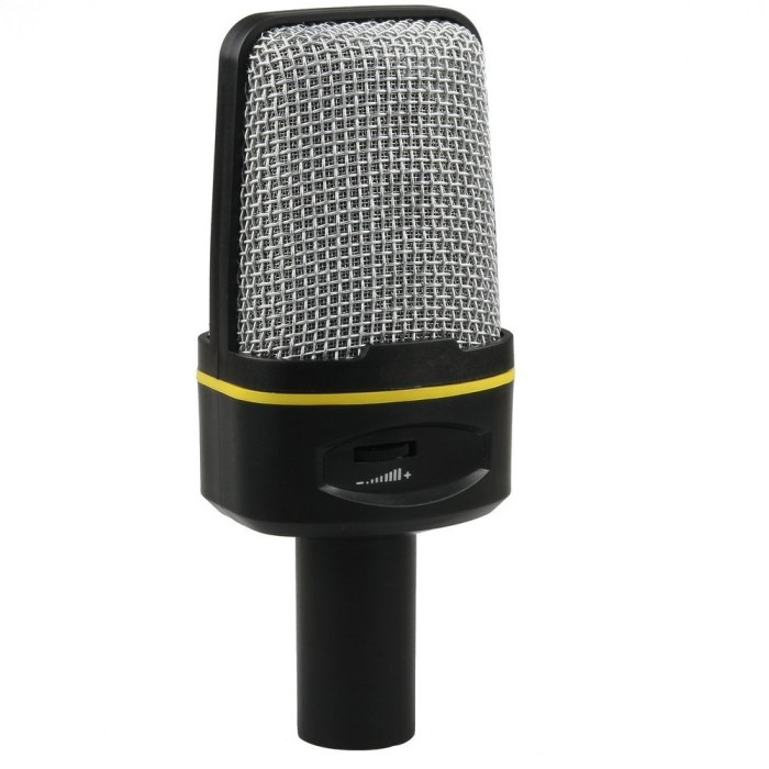 Bisa untuk Recording · Microphone Audio Jack 3.5mm - For PC / Laptop.