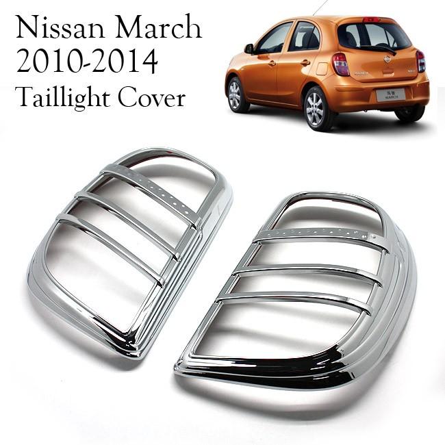 harga Nissan march 2012 - 14 taillight cover garnish krom Tokopedia.com