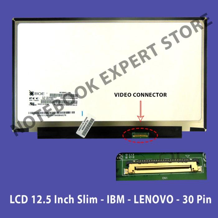 harga Lcd / led laptop lenovo 12.5 inch slim 30pin Tokopedia.com